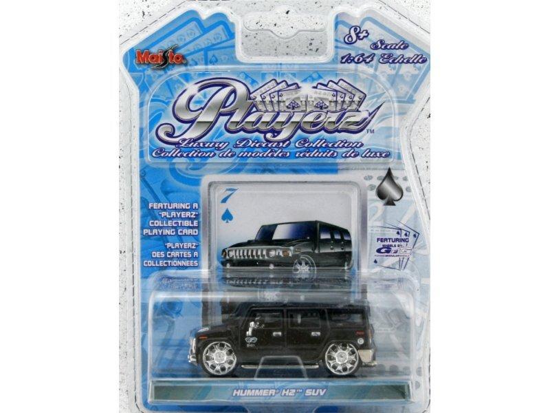 AMC HUMMER H2 SUV - black - Maisto PlayerZ 1:64