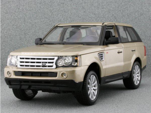 LAND ROVER Range Rover Sport - goldmetallic - Bburago 1:18