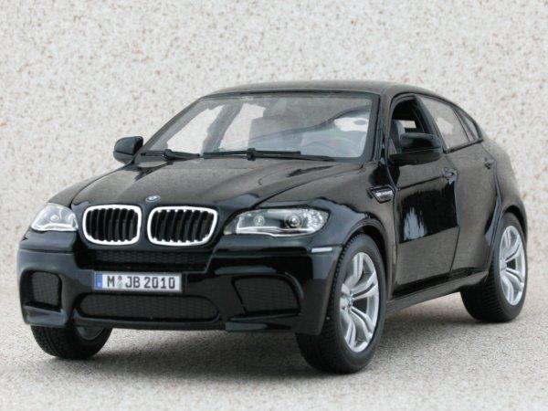 BMW X6 M - black - Bburago 1:18