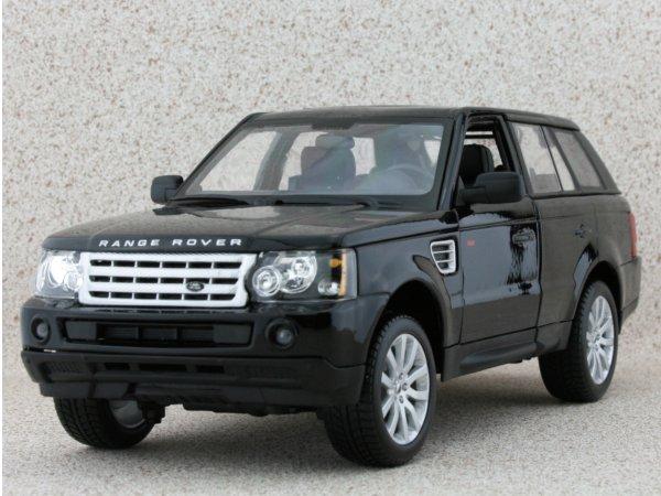 LAND ROVER Range Rover Sport - black - Bburago 1:18