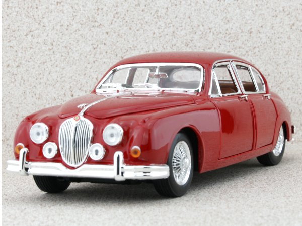JAGUAR Mark II - 1959 - red - Bburago 1:18