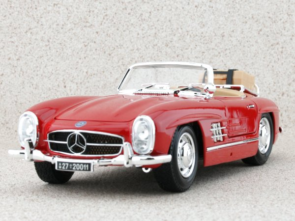 MB Mercedes Benz 300 SL Touring - 1957 - red - Bburago 1:18