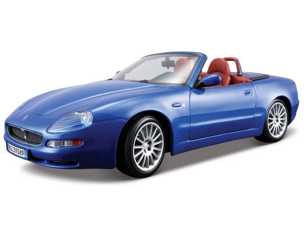 MASERATI GT Spyder - 2004 - bluemetallic - Bburago 1:18