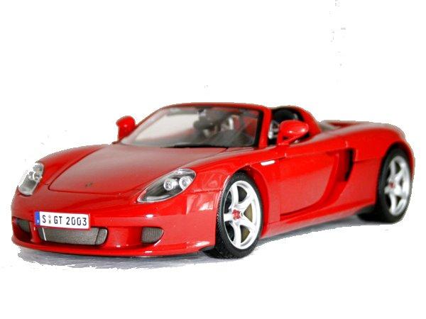 PORSCHE Carrera GT - red - Maisto 1:18
