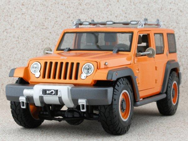 JEEP Rescue Concept - orangemetallic - Maisto 1:18