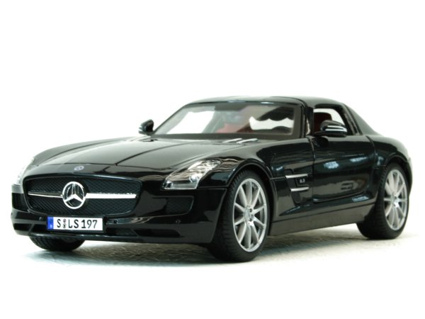 MB Mercedes Benz SLS AMG - black - Maisto 1:18