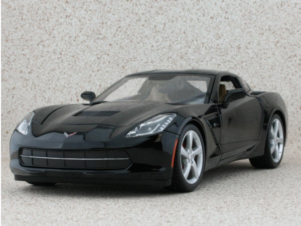 CHEVROLET Corvette Stingray - 2014 - black - Maisto 1:18