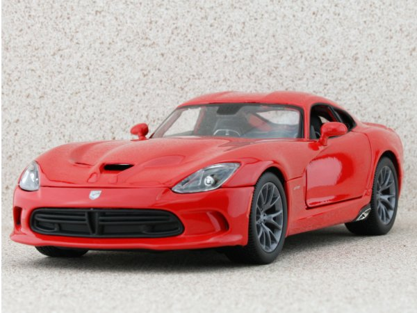 DODGE SRT Viper GTS - 2013 - red - Maisto 1:18