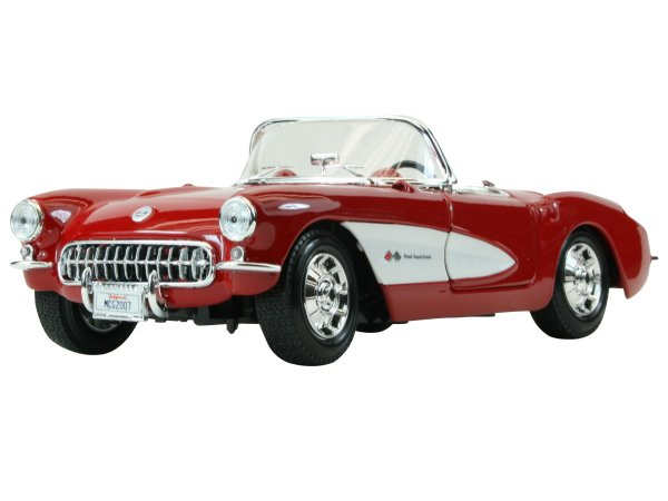 CHEVROLET Corvette - 1957 - red - Maisto 1:18