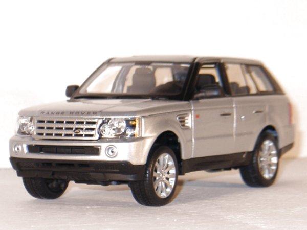 LAND ROVER Range Rover Sport - silver - Maisto 1:18