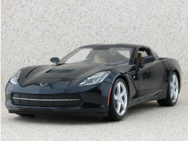CHEVROLET Corvette Stingray - 2014 - Nightbluemetallic - Maisto 1:18