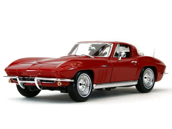 CHEVROLET Corvette - 1965 - red - Maisto 1:18
