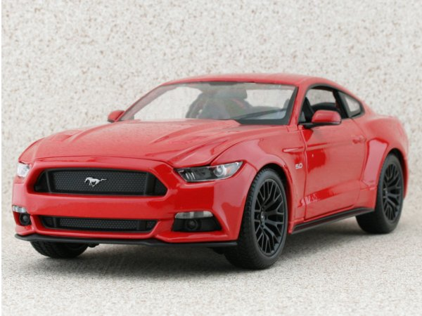 FORD Mustang GT - 2015 - red - Maisto 1:18