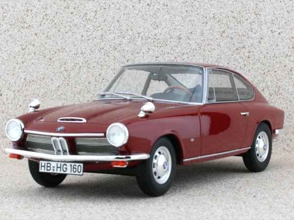 BMW 1600 - 1968 - darkred - BoS - Best of Show 1:18