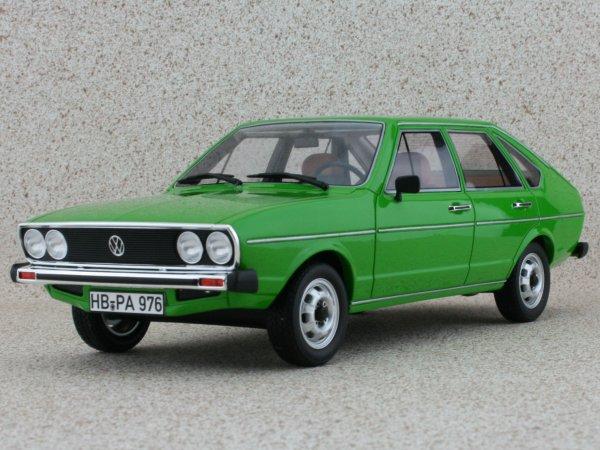 VW Volkswagen Passat TS - 1976 - green - BoS - Best of Show 1:18