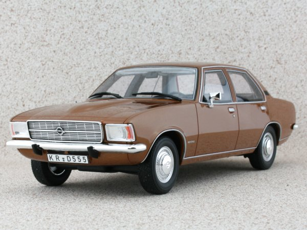 OPEL Rekord 2100 D - 1973 - brownmetallic - BoS - Best of Show 1:18