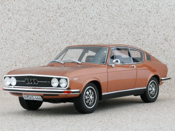 AUDI 100 Coupe S - coppermetallic - BoS - Best of Show 1:18