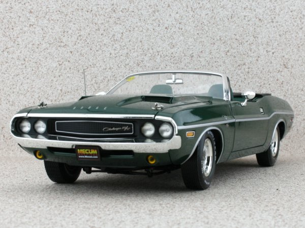 DODGE HEMI Challenger R/T - 1970 - greenmetallic - Greenlight 1:18