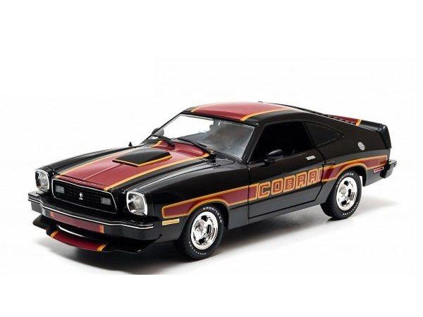 FORD Mustang Cobra II - 1978 - black - Greenlight 1:18