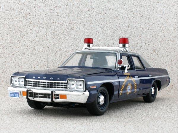 DODGE Monaco - 1975 - Highway Patrol - ERTL 1:18