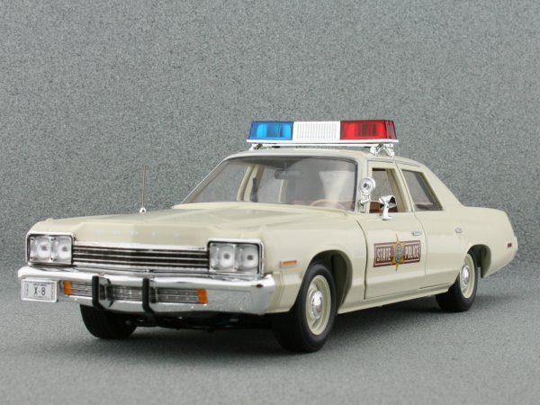 DODGE Monaco - 1974 - Illinois State Police - ERTL 1:18