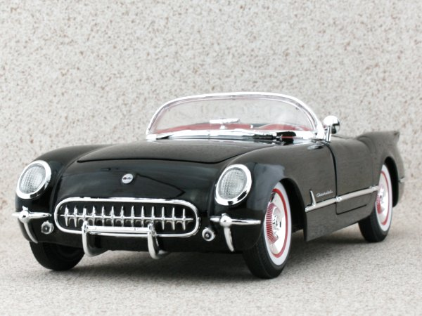 CHEVROLET Corvette - 1954 - black - ERTL 1:18