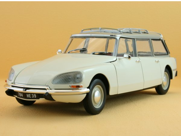 CITROEN Break 21 - 1970 - white - Norev 1:18