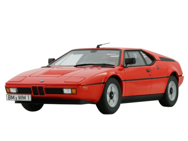 BMW M1 - 1978 - orange - Norev 1:18