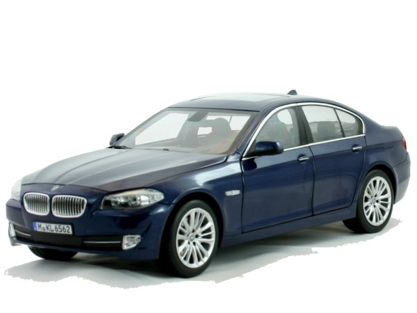 BMW 550i - 2010 - bluemetallic - Norev 1:18