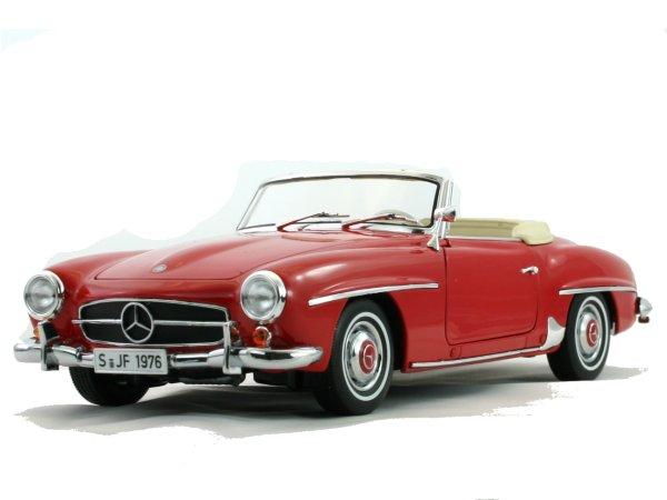 MB Mercedes Benz 190 SL - 1957 - red - Norev 1:18