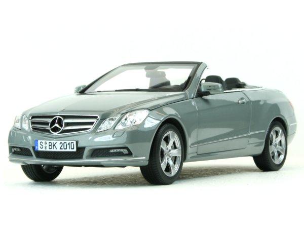 MB Mercedes Benz E 500 Cabrio - 2010 - Palladium silver - Norev 1:18