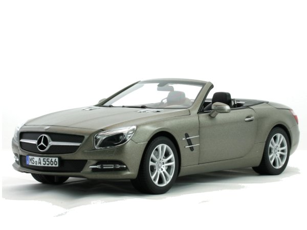 MB Mercedes Benz SL - 2012 - Grey matt - Norev 1:18