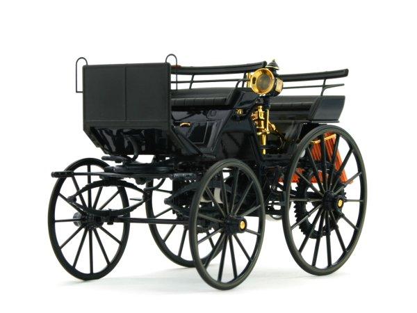 DAIMLER Motorkutsche - 1886 - darkblue / black - Norev 1:18