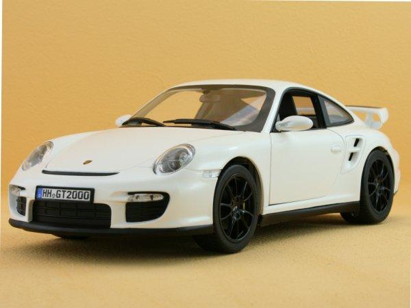 PORSCHE 911 GT2 - 2007 - white - Norev 1:18