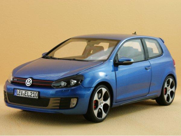 VW Volkswagen Golf GTI - 2009 - Mercato bluemetallic - Norev 1:18
