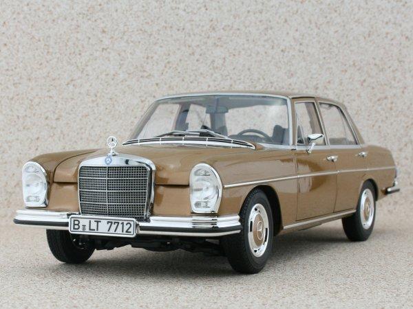 MB Mercedes Benz 280 SE - 1968 - Byzanzgold - Norev 1:18