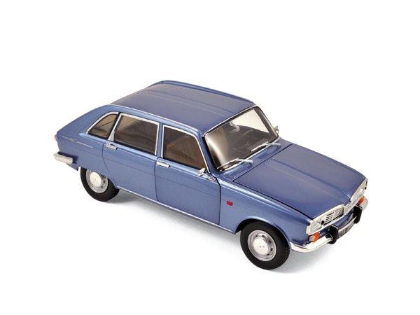 RENAULT 16 - 1968 - Cobalt blue metallic - Norev 1:18