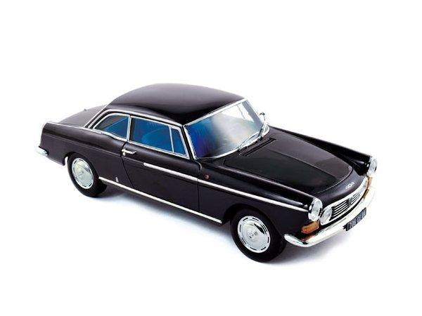 PEUGEOT 404 Coupe - 1967 - black - Norev 1:18