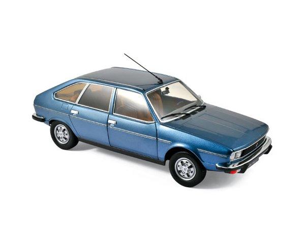 RENAULT 30 TS - 1978 - Ardoise blue metallic - Norev 1:18