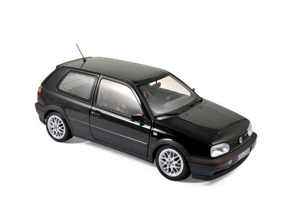 VW Volkswagen Golf GTI - 1996 - blackmetallic - Norev 1:18