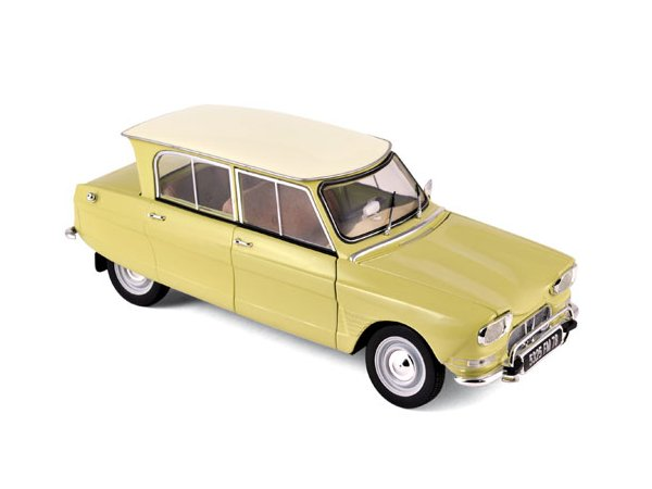 CITROEN Ami 6 - 1964 - Naples yellow - Norev 1:18