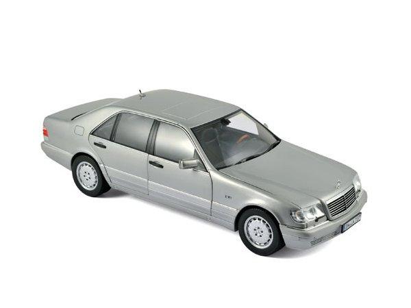 MB Mercedes Benz S 600 - 1997 - Pearl Light grey - Norev 1:18