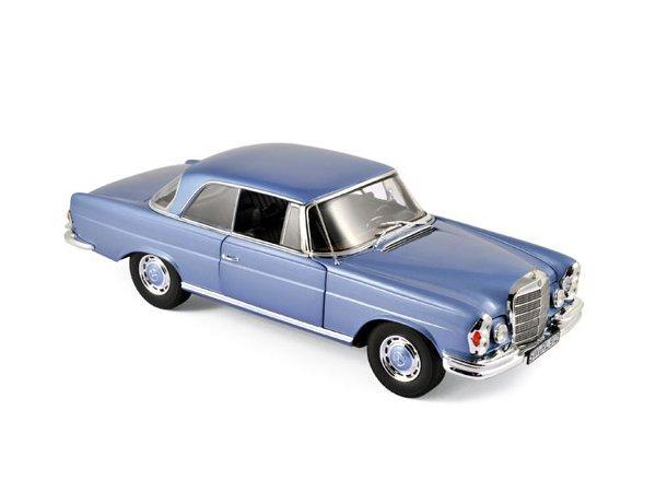 MB Mercedes Benz 280 SE Coupe - 1969 - Light blue metallic - Norev 1:18