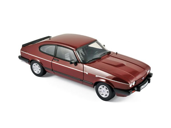 FORD Capri Mk III 2.8 Injection - 1982 - red - Norev 1:18