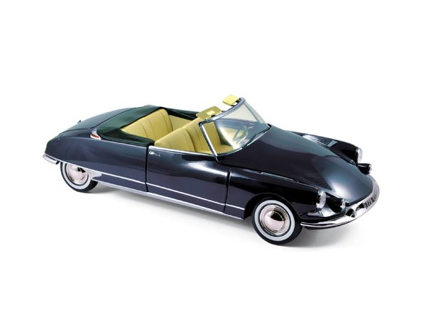 CITROEN DS 19 Cabriolet Chapron - 1961 - Royal blue - Norev 1:18