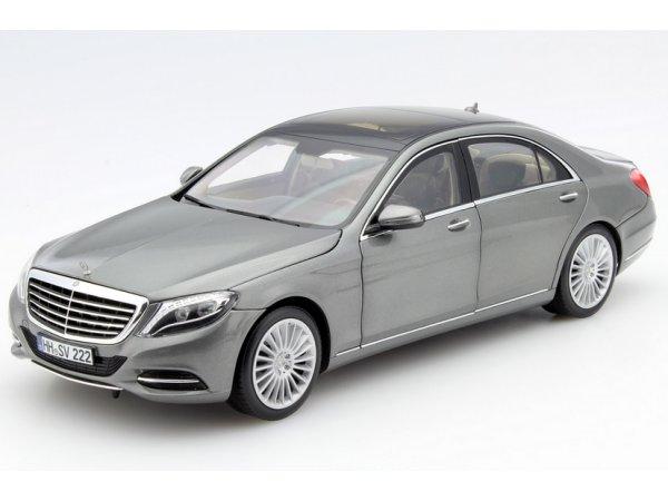 MB Mercedes Benz S Class - 2013 - Iridium silver - Norev 1:18