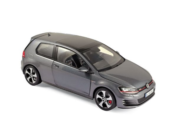 VW Volkswagen Golf GTI - 2013 - Carbon Steel grey - Norev 1:18