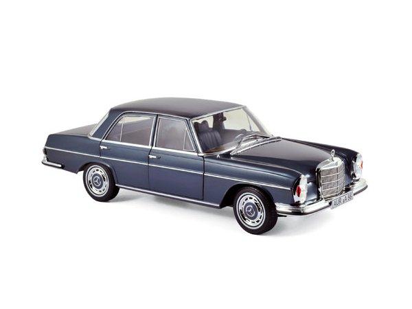 MB Mercedes Benz 280 SE - 1968 - darkbluemetallic - Norev 1:18