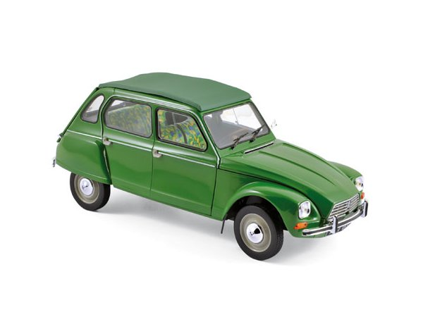 CITROEN Dyane 6 - 1975 - Tuileries green - Norev 1:18