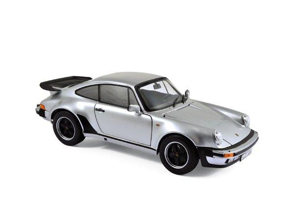 PORSCHE 911 Turbo 3.3 Ltr - 1977 - silver - Norev 1:18